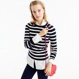 J.Crew Striped Holly sweater