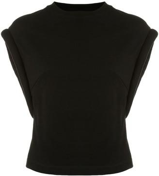 RtA Kairi cap sleeve T-shirt