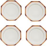 Este Ceramiche Set-of-Four Ceramic Dinner Plates