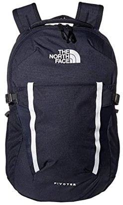 The North Face Pivoter Backpack (Aviator Navy Light Heather/TNF White) Backpack Bags