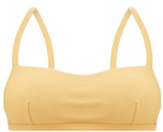 Matteau - The Square Bikini Top - Womens - Yellow