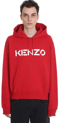 Kenzo Sweatshirt In Red Cotton