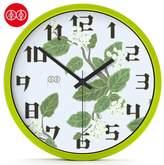AISSION WALL CLOCK Art Wall Clock-Table Chinese Garden Lounge Creative Quartz Clock Mute