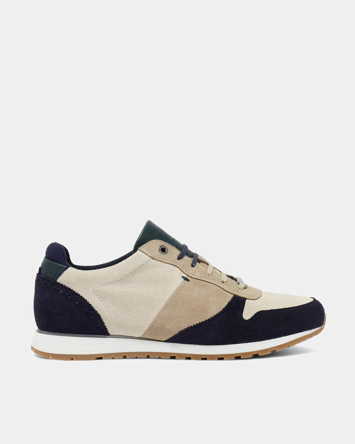 Ted Baker SHINDLS Classic suede trainers