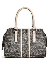 GUESS Women's Nichols Logo Box Satchel