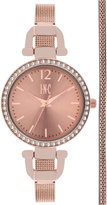 INC International Concepts Women's Stainless Steel Mesh Bracelet Watch & Bracelet Box Set 32mm, Only at Macy's