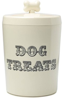 House Of Paws House of Paws Country Kitchen Large Cream Treat Jar