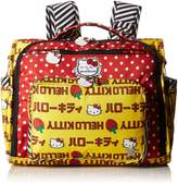 Ju-Ju-Be Hello Kitty Collection Convertible Diaper Bag, Strawberry Stripes
