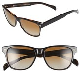 Salt Men's 'Renzo' 55Mm Polarized Sunglasses - Black Oak/ Grey