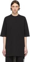Rick Owens Black Heavy Jersey T-Shirt