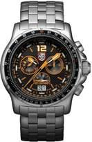 Luminox Men's 9382 Quartz Chronograph Stainless Steel Dial Watch