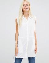 Daisy Street Sleeveless Shirt