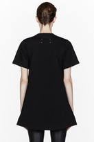 Maison Martin Margiela Black pleated inset T-Shirt