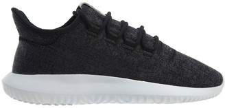 adidas Tubular Shadow Black White Athletic Canvas Sneaker