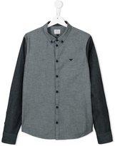 Armani Junior button down shirt