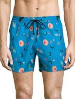 Paul Smith Mixed Charm Printed Swim Trunks
