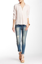 Just USA Mid Rise Skinny Cropped