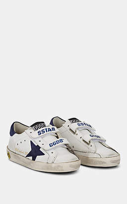 Golden Goose Kids' Old School Leather Sneakers - White