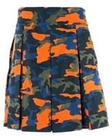 Givenchy Men's Green Orange Camouflage Kilt Size E52 Us Medium~rtl$795.