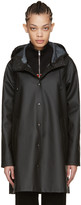 Stutterheim Black Mosebacke Raincoat