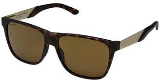 Smith Optics Lowdown XL Steel (Matte Dark Tort/Chromapop Brown Polarized) Athletic Performance Sport Sunglasses
