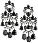 Carolee Two-Tone Multi-Stone Chandelier Earrings