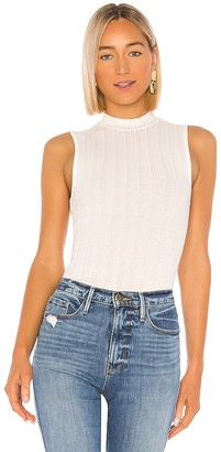 Vince Shell Mock Neck Tank