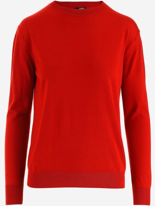 Aspesi Red Wool Women's Jumper