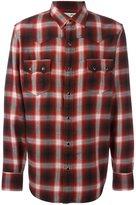 Saint Laurent Western checked shirt