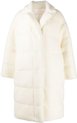 Moncler Padded Teddy Coat