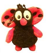 BabyCenter Rudolph Schaffer Buggy Keyring Soft Toy
