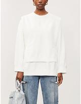 MM6 MAISON MARGIELA Branded cotton-jersey jumper