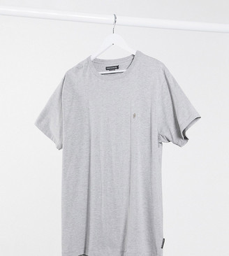 French Connection Plus Essentials t-shirt in gray