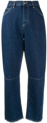 L'Autre Chose loose straight-leg jeans