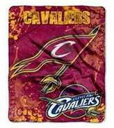 Northwest Company Cleveland Cavaliers 50x60in Plush Throw Drop Down