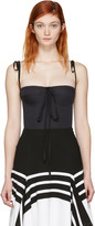 Brock Collection Black Tabitha Bustier Top