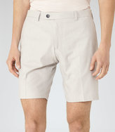 Reiss Reiss Whinfell - Tailored Shorts In White, Mens