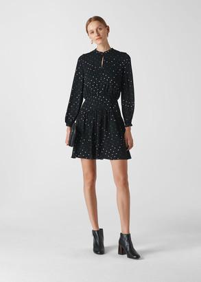 Millie Star Print Dress