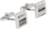 Oxford Cufflinks Curved Silver X