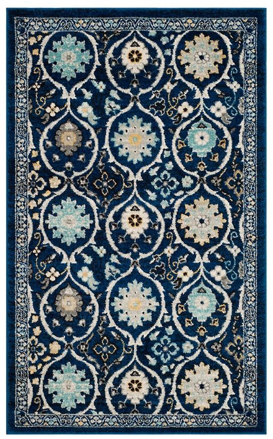 Safavieh Evoke Frieze Patterned Royal Blue Area Rug Shopstyle