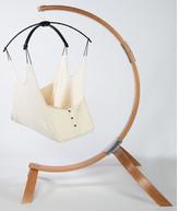 Hushamok Hushamok Okoa Cotton Chair Hammock with Stand