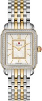 Michele Deco II Mid Diamond Watch Head & Bracelet, 26mm