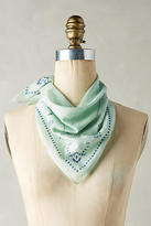 Anthropologie Mint Classic Bandana