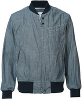 Engineered Garments zipped bomber jacket - men - Cotton - L
