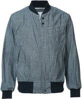 Engineered Garments zipped bomber jacket - men - Cotton - M