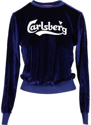 Carlsberg Signature Blue Chenille Women's Sweater