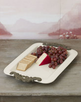 GG Collection G G Collection Rectangular Serving Tray with Handles