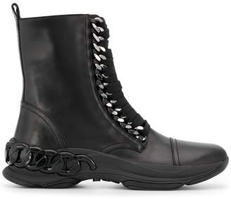 Casadei lace up ankle boots