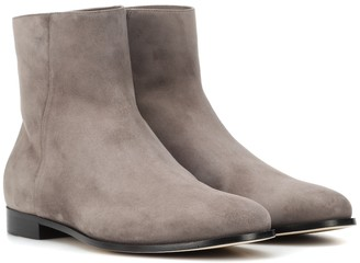 Jimmy Choo Duke suede ankle boots