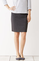J. Jill Ponte Knit Seamed Pencil Skirt